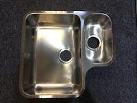 Franke Lax Largo Undermount Sink Lhsb, Stainless Steel, Lowest Uk Price ££ ££