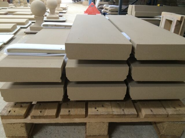 cast stone  wall copings, walling.