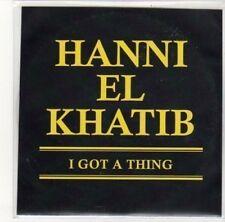 (DK427) Hanni El Khatib, I Got A Thing - DJ CD