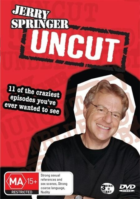 Jerry Springer Uncensored For Sale Online Ebay