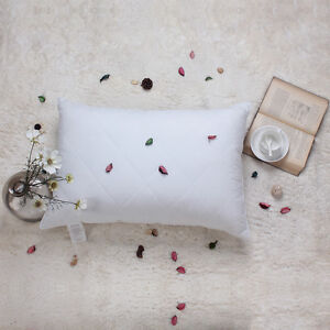 20x28inches Luxury Goose Feather Bed Pillow 100 Cotton