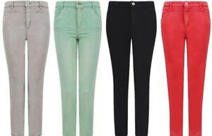 Mesdames-Esprit-Jean-stretch-denim-skinny-en-coton-melange-taille-6-To-18-nouveau-pantalon