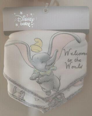 Primark Disney Baby Dumbo The Flying Elephant Bandana Bibs pack of 3 BNWT
