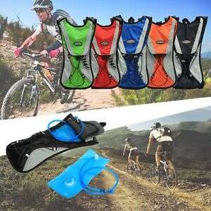 2L-Cycling-Backpack-Water-Bag-Hiking-Pouch-Climbing-Hydration-Pack-With-Bladder