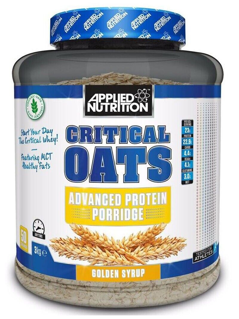 Applied Nutrition Critical Oats 3kg protein - Protein Porridge Meal Replacement