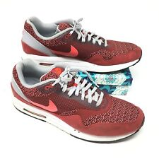 c3c3ce62bc item 6 Men's Nike Air Max 1 Jacquard Size 13 Sneakers Shoes Athletic Red  White Gray D7 -Men's Nike Air Max 1 Jacquard Size 13 Sneakers Shoes  Athletic Red ...
