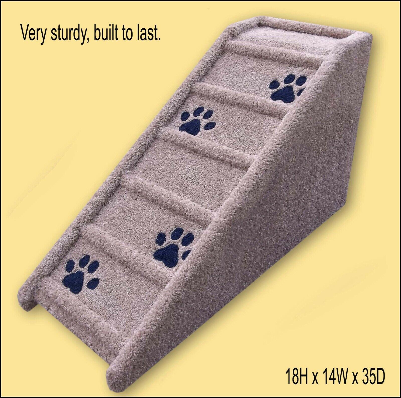 più sconto Pet Ramp with inlaid paw paw paw prints. Dog Ramp 18Hx14Wx35D. Dog Ramp.  negozio a basso costo
