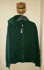 $98.00 Polo Ralph Lauren full-zip hoodie college green Men's Size Medium