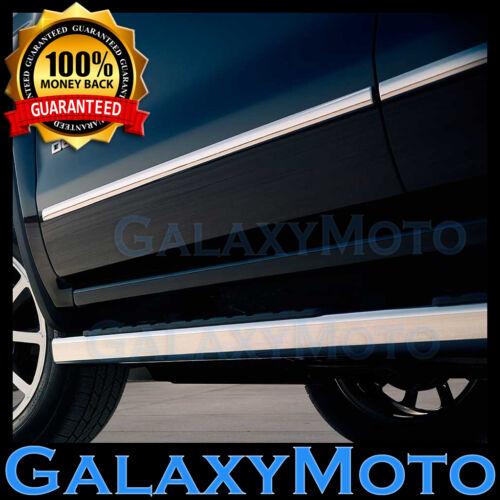 07-14 GMC Yukon XL SUV 4 Door Chrome Body Side Molding Front+Rear 4pcs Set