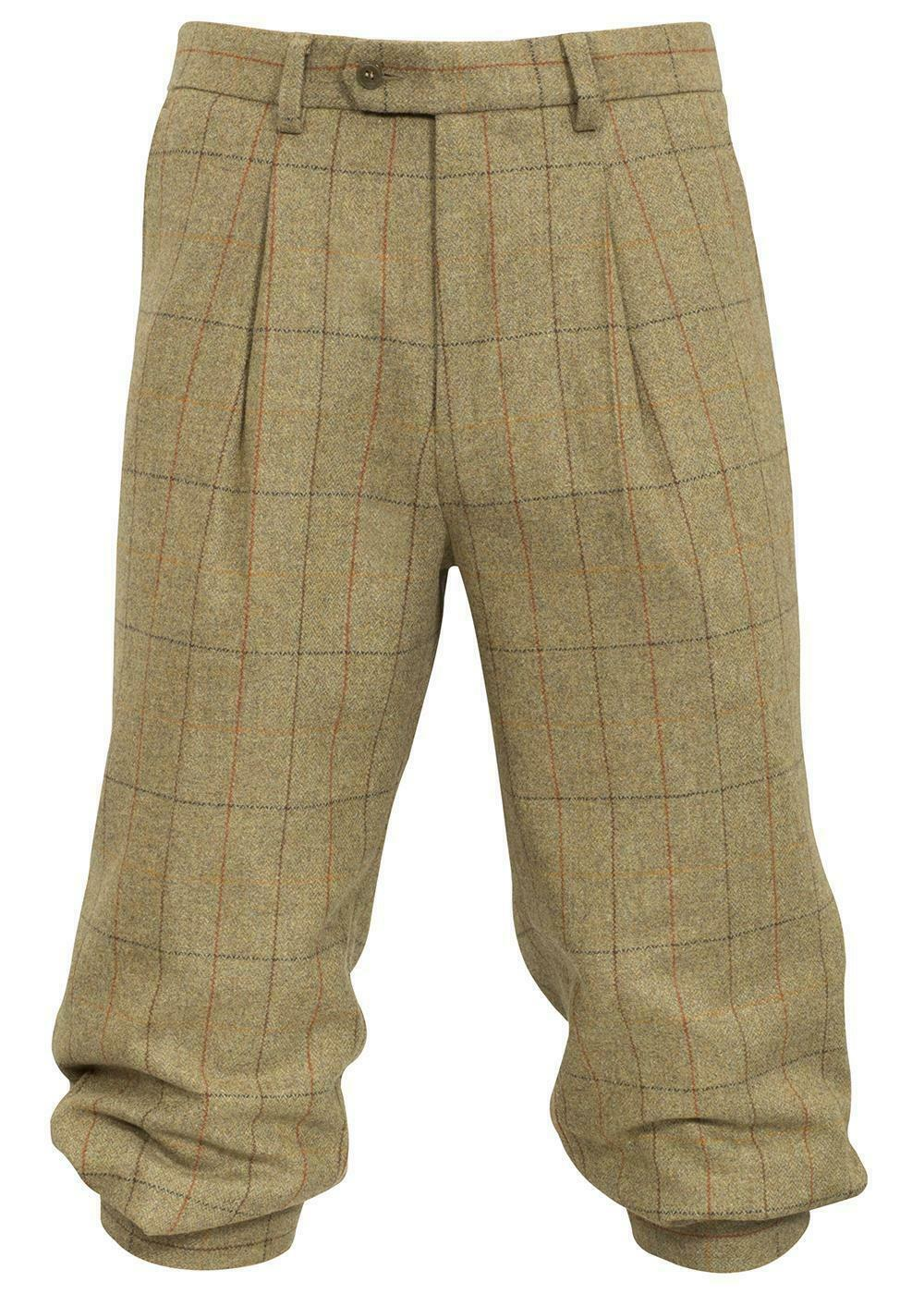 Alan Paine Combrook Tweed Breeks --Elm