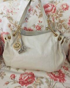 Michael-Kors-Handtasche-klassische-grosse-Tasche-Bag-Leder-Leather