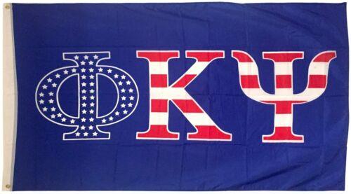Phi Kappa Psi Flag 3 x 5 feet Banner Phi Psi Flag - USA