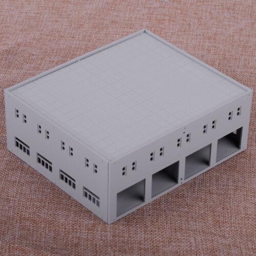 1//87 factory modellbau garage fabrik ladegut Fabrikgebäude modelleisenbahn 1:87