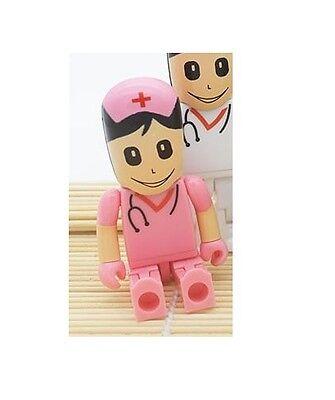 1pc 16GB Pink Nurse Medic Doctor Surgeon EMT USB Flash Thumb Drive USA Shipper