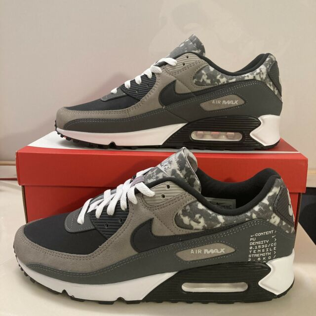 Nike Air Max 90 SE Air Content Pack Shoes CT1688 Enigma Stone Off Noir Grey s 10