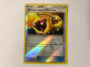 Carte Pokemon RECUPERATION D'ENERGIE 116/149 Reverse Soleil et Lune1 SL1 FR NEUF Verzamelingen kaartspellen