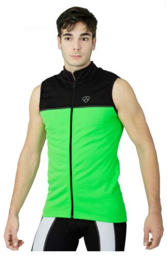 Cyclisme Veste sans Manche Hautement Visible Waterproof Course Équitation