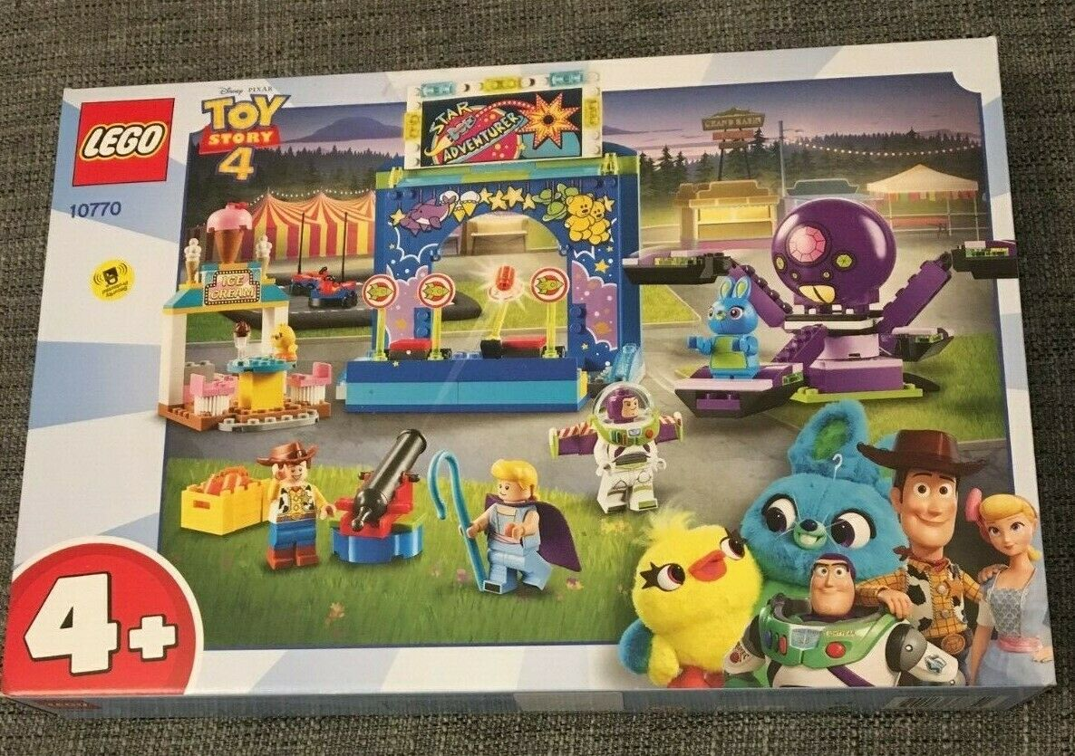 LEGO DISNEP PIXAR TOY STORY 4 SET 10770 BRAND NEW IN BOX