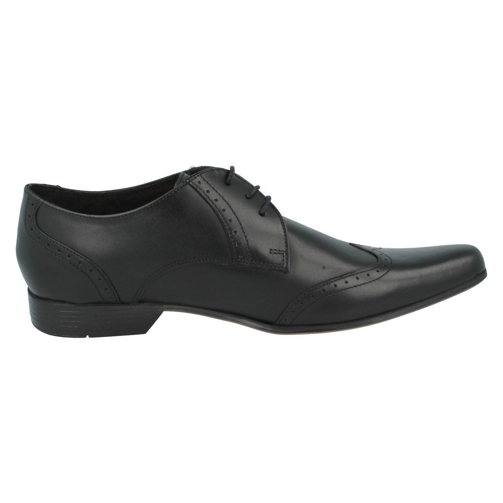 BASE LONDON  Herren Herren Herren BUGSY MTO LACE UP SQUARE TOE LEATHER SEMI BROGUE FORMAL Schuhe 4c42b8