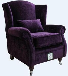 Image Is Loading Ashley Wing Chair Fireside High Back Armchair Modena
