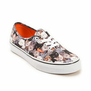 Details zu NEW VANS ASPCA Cat Cats Authentic Print Kitty Animals Mens Sizes RARE