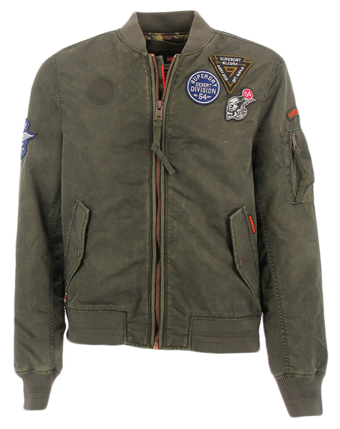 Chaqueta bomber de Superdry Limited Issue Flight Green para hombre Superdry LIMI