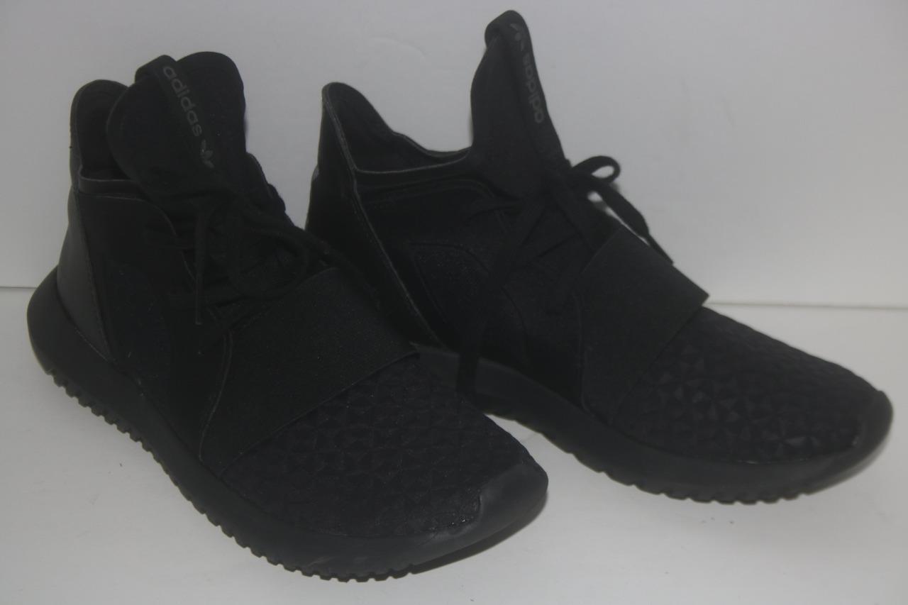 Adidas Donna Shoes Tubular Defiant Core Nero S75900 Sz 8.5 FREE SHIPPING!