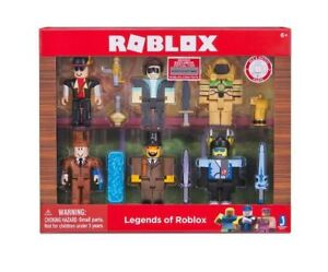 Roblox Legends Of Roblox Action Figure Pack Code 6 Figures With