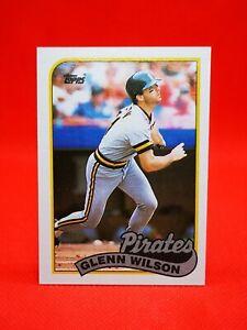 Topps 1989 carte card Baseball MLB NM+/M Pittsburgh Pirates #293 Glenn Wilson