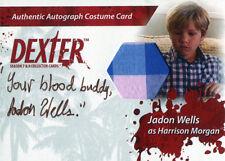 Dexter Seasons 7 & 8 Costume Wardrobe Card CA1 Jadon Wells Harrison Morgan