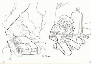 The Batman vs Joker Coloring Activity Book pgs. 15 & 16 - art by Joe Staton