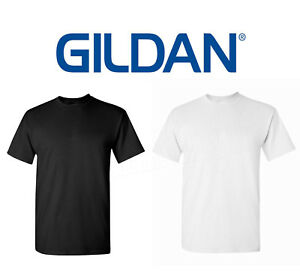 Wholesale 120 Gildan T Shirt Blank Bulk Lot Black 60 Mix Match White Plain S Xl Ebay
