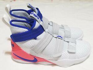d80d6b16f6c366 Nike LeBron James Soldier XI SFG Basketball Shoes 897646 101 Men's ...