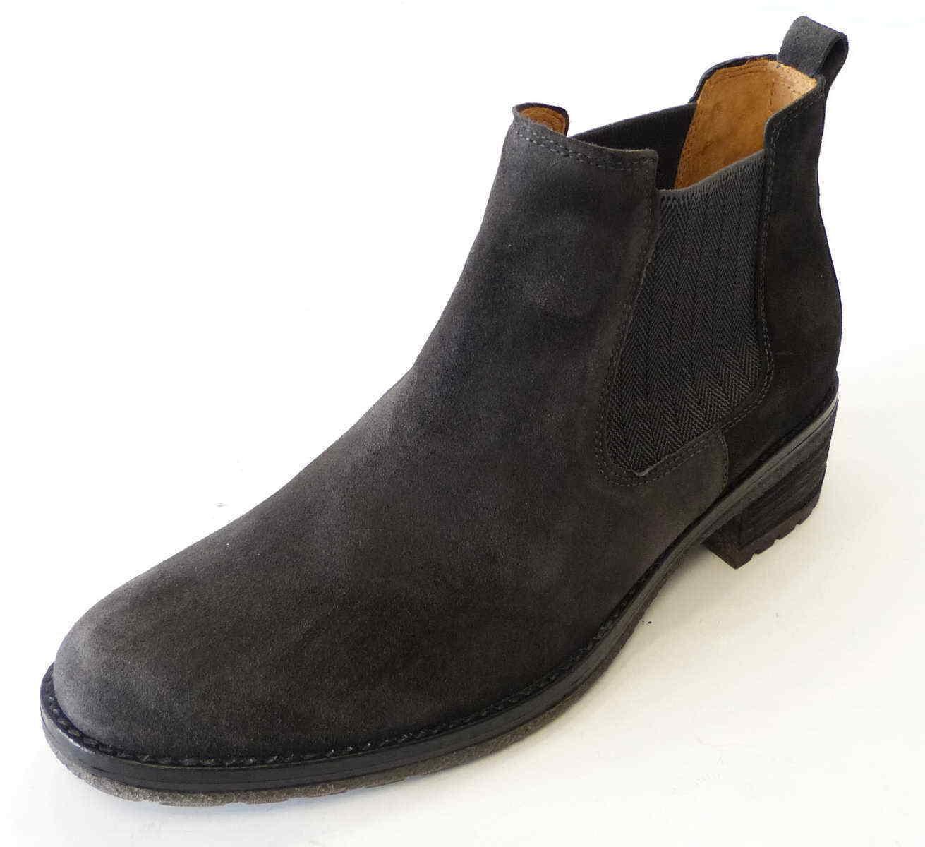 Gabor Stiefel & Stiefeletten grau Leder Damen Schuhe