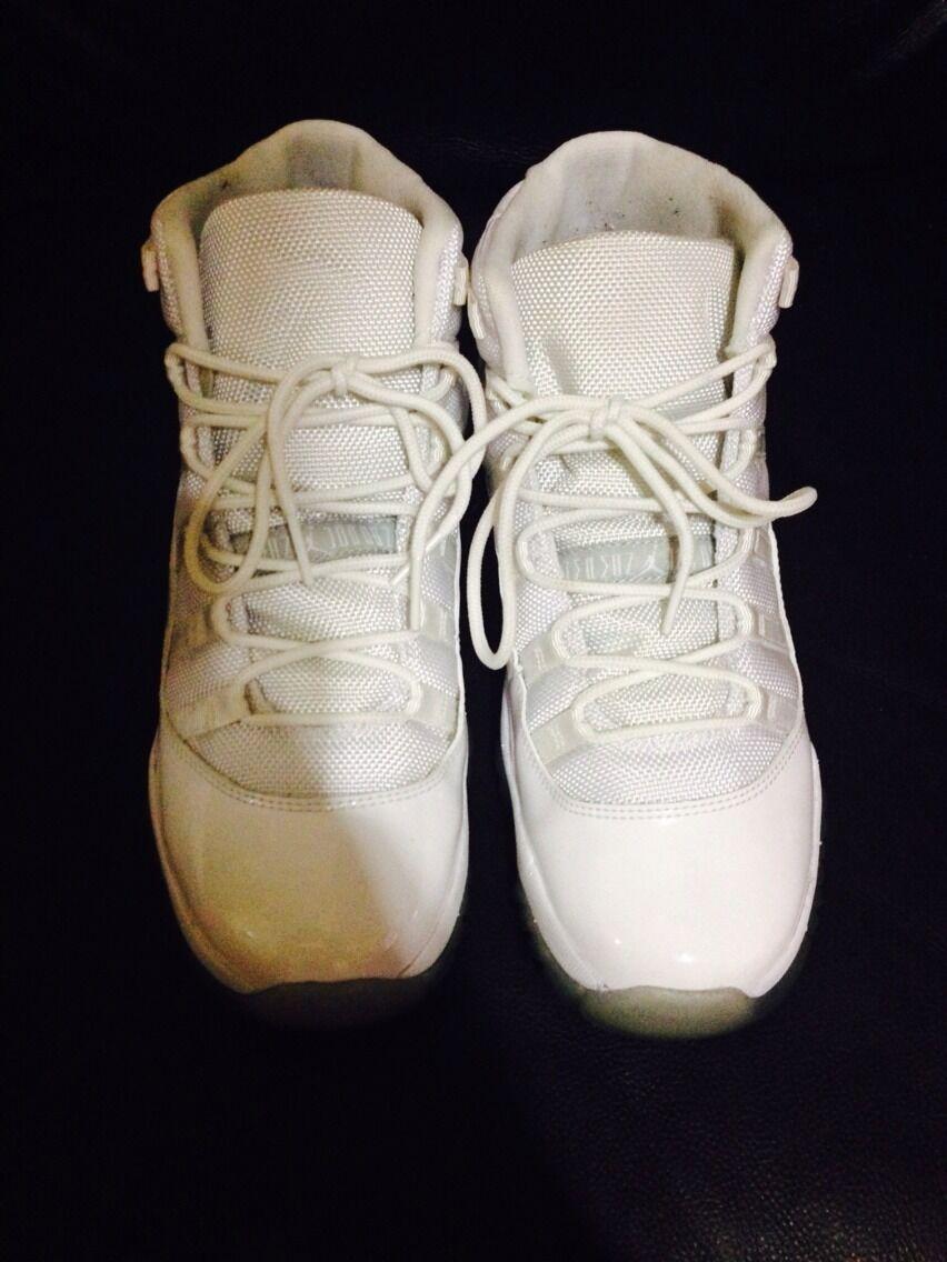 Jordan Anniversary 11 XI  White 6.5Y
