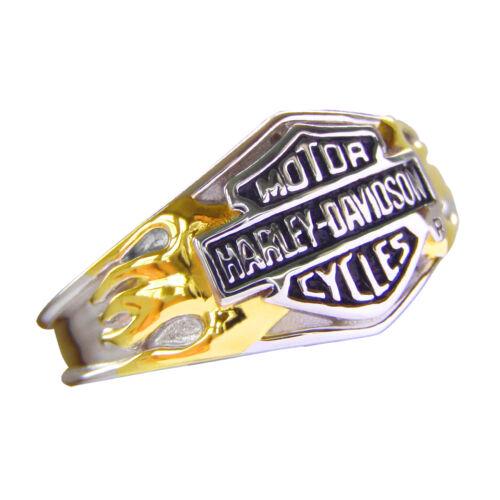 Women/'s Sterling Silver Classic Logo Ring NEW Harley-Davidson Ladies