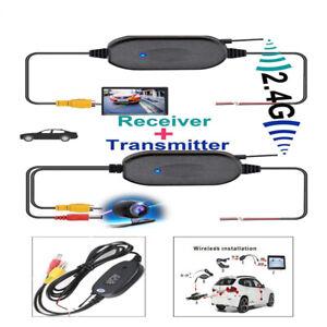Inalambrico-Vision-Trasera-Video-Transmisor-Receptor-Para-Coche-Camion-Camara-de