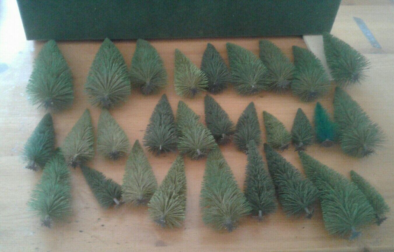60-135 mm Spur H0 Neu//OVP Busch 6489  Mischwald 30 Bäume ca