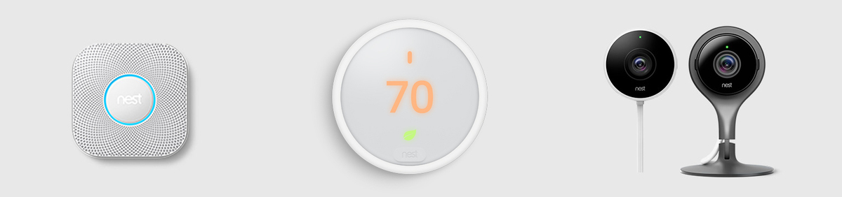 Shop Event Direct from Nest Top-selling products for a smarter home
