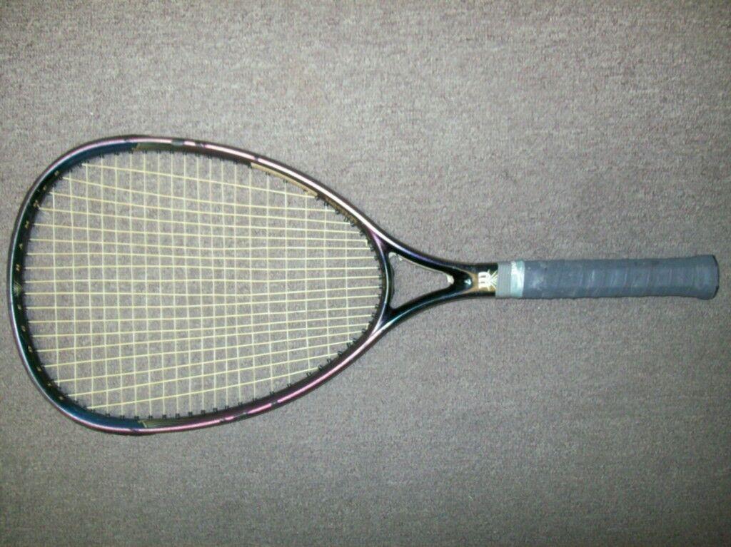 Wilson Sledge Hammer 3.8 OS 110 4 1 4 grip Tennis Racquet