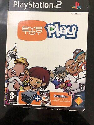 2019 Nieuwste Ontwerp Sony Playstation 2 Ps2 Eye Toy Usb Camera + Eye Toy Game