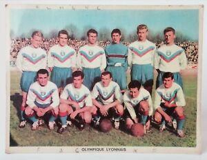 Ancienne photo Officielle sur carton OLYMPIQUE LYONNAIS Football 24 x 18 n°3/3