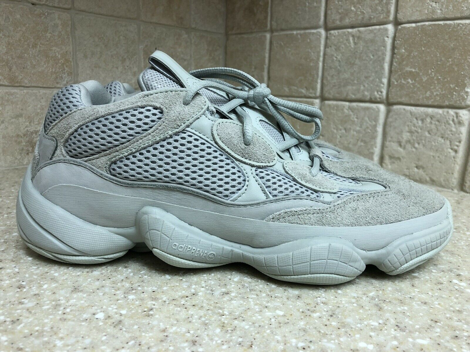 NEW Adidas Yeezy Boost 500 Salt Desert EE7287 Kanye West Size 10.5 Grey SOLD OUT