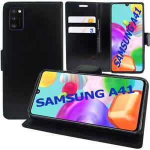 """Étui Coque Housse Portefeuille En Cuir Antichoc Samsung Galaxy A41 6.1"""" SM-A415F"""