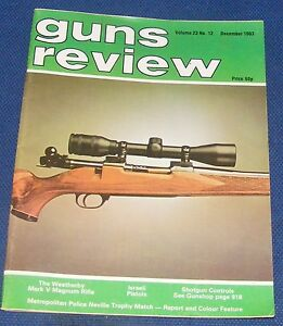 GUNS-REVIEW-MAGAZINE-DECEMBER-1983-THE-WEATHERBY-MARK-V-MAGNUM-RIFLE