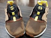 Puma Mens Leather Disc Cage Lux Opt 2 Sz 11 Cork Grey Black Yellow 356410-02