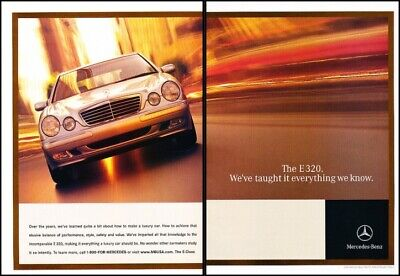 1996 Mercedes Benz S500 S-Class Original Advertisement Print Art Car Ad J622