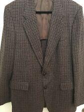 Blazer Sport Coat 11Antique Brown Shank Leather Buttons Set for Suit Jackets