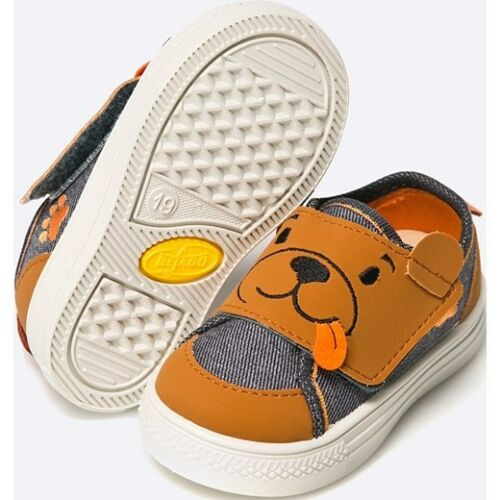 BEFADO boys canvas shoes slippers trainers boots TODDLER Infant NEW Box 4-8UK