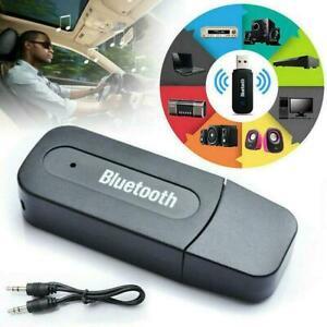 3-5Mm-Aux-Usb-Wireless-Bluetooth-Stereo-Audio-Auto-Adapter-Empfaenger-Musik-K1R3